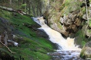 Ручей Ниваоя. Водопад.