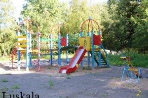 Усадьба Лускала. Детская площадка.